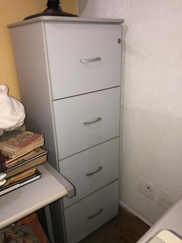 Vendo mesa l e moveis para escritório - Foto 4