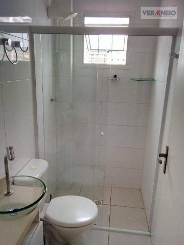 Apartamento com 2 dormitórios à venda, 73 m² por R$ 275.000 - Vila Guilhermina - Praia Gra - Foto 11