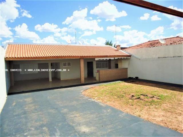 Casa para venda em presidente prudente, maracanã, 2 dormitórios, 1 suíte, 2 banheiros, 4 v