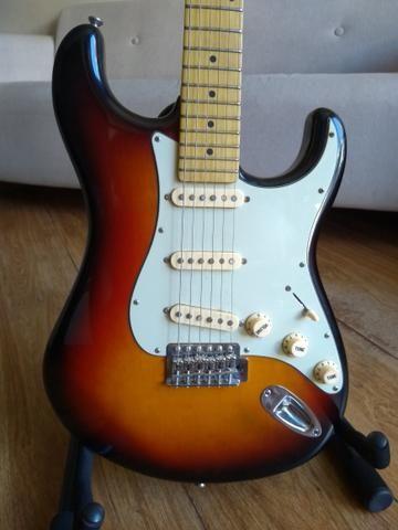 Guitarra Tagima 635 Brasil sunburst blindada - Foto 2