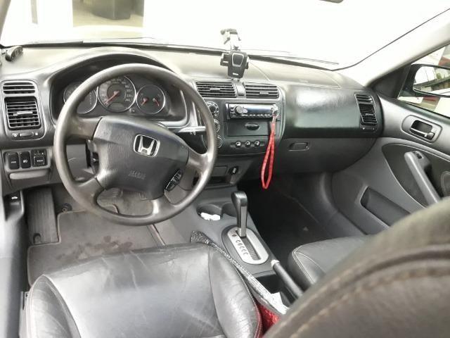 Honda Civic EX o top da categoria vendo ou troco por carro mais alto - Foto 10