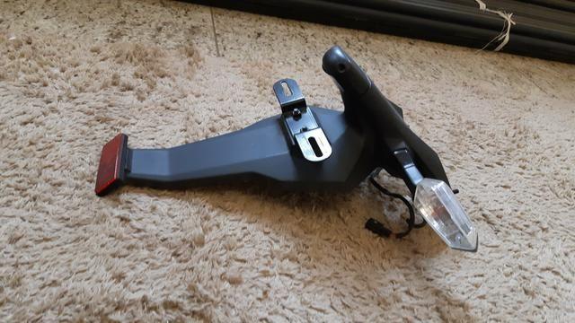 Rabeta suporte placa ninja 650 - Foto 3
