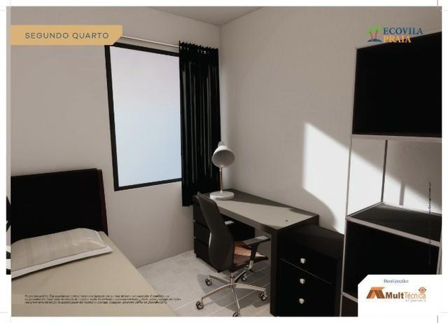 SR Preço de Feirao!!! 142miil apto de 50m2, 2 qrts 1 suite, 700m da praia - Candeias
