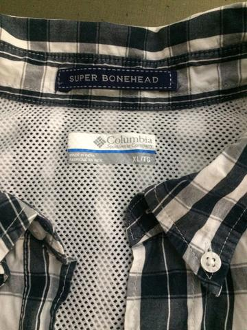 Camisa Dkny TAM 3 azul claro slim - Foto 5