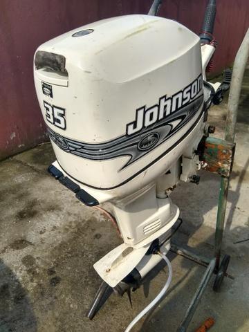 Johnson 35 hp 2001 funcionando - Foto 4