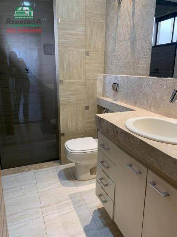 Sobrado com 4 dormitórios para alugar, 350 m² por R$ 6.000,00/mês - Residencial Sun Flower - Foto 13