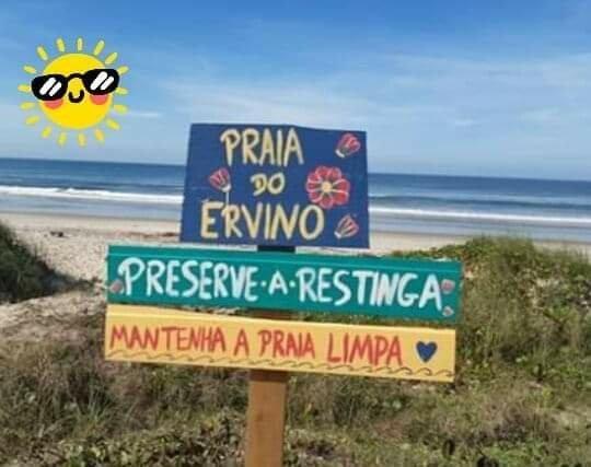 Apartamento temporada e carnaval a 100mt do mar praia do ervino - Foto 9