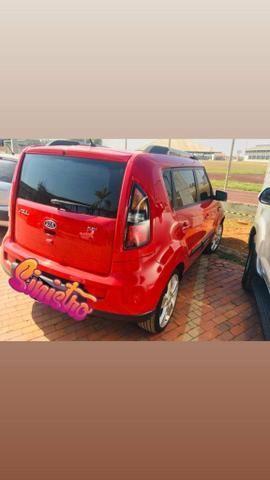 Kia soul vermelho 1.6 16v completo manual super econômico. - Foto 5