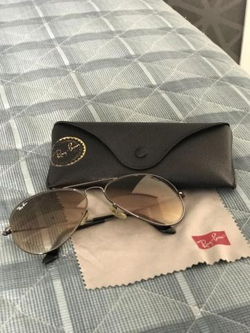8989803d06074 Óculos Rayban Aviador Original Unissex tamanho grande - Bijouterias ...