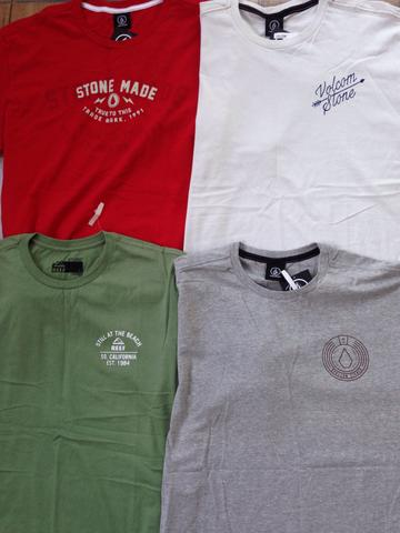 Kit 5 camisetas marcas surf/skate originais entrego - Foto 2