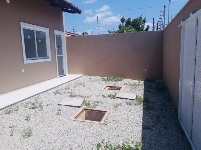 Casa com doc. gratis: 2 quartos , 2 bainheiros , com acabamento diferenciado - Foto 3