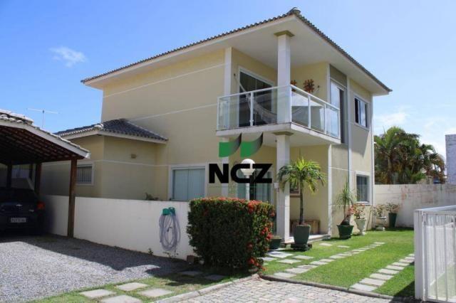 Casa com 4 dormitórios à venda, 180 m² por r$ 685.000 - miragem - lauro de freitas/ba
