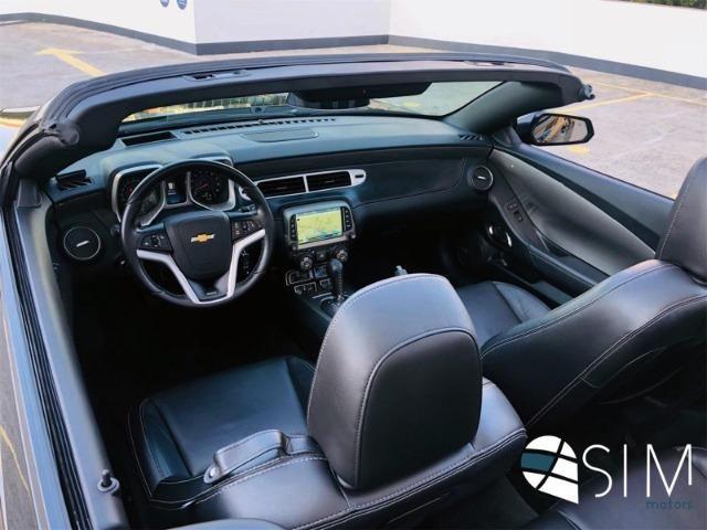 GM Chevrolet Camaro SS 6.2 Conversível V8 - TOP - 2014 - Foto 16