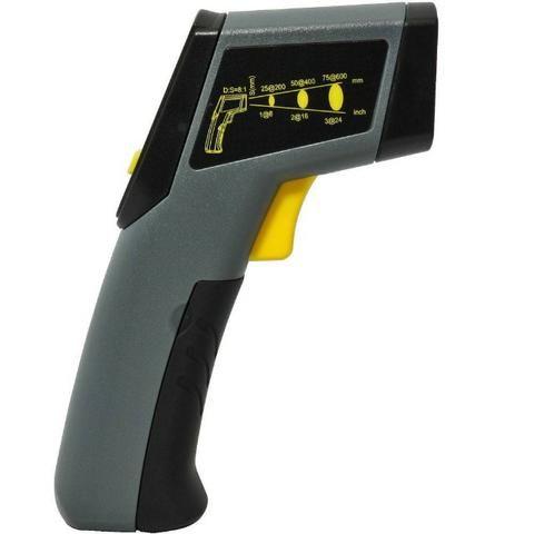 Termômetro Digital Infravermelho Celsius ou Fahrenheit -20°C ~ 320°C a Bateria - Noll - Foto 2