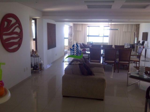 Apartamento alto luxo, 4 quartos, beira mar de candeias - Foto 2
