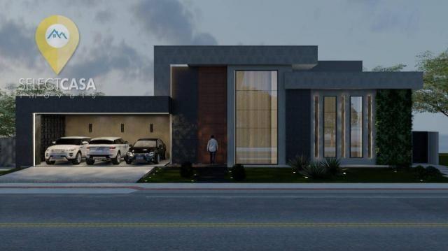 Casa com 4 dormitórios à venda, 450 m² por R$ 3.800.000,00 - Boulevard Lagoa - Serra/ES