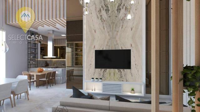 Casa com 4 dormitórios à venda, 450 m² por R$ 3.800.000,00 - Boulevard Lagoa - Serra/ES - Foto 6