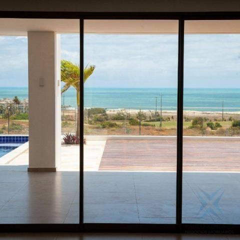 mansão com vista mar no aquiraz riviera com 5 dormitórios à venda, 419 m² por R$ 2.700.000 - Foto 3