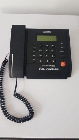Telefone fixo com Identificador de Chamadas Memória Viva Voz - Foto 5