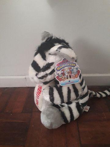 Pelúcia Zebra - Coleção Mamíferos da Parmalat - Foto 3