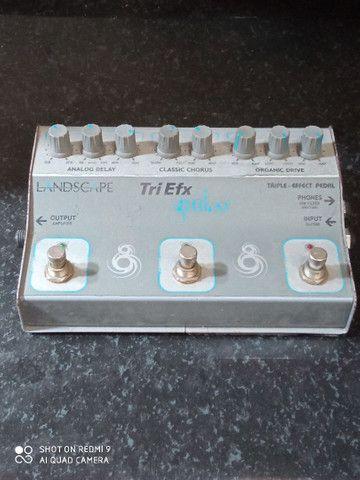 Pedal Tri Efx guitar - Foto 2