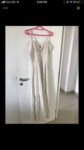 Vestido longo alça - Foto 5