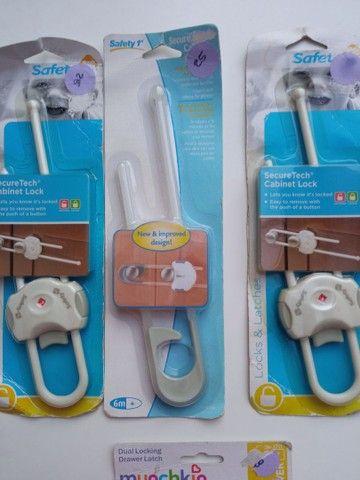 Travas de armários e gaveta para bebês - Foto 3