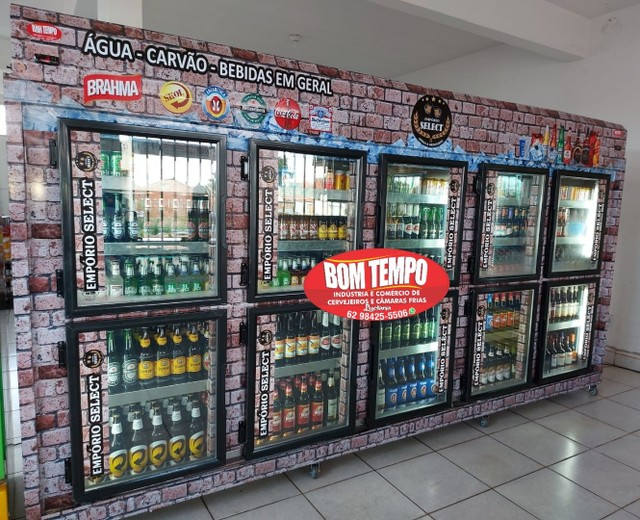 Cervejeiras e câmaras frias pra distribuidora e supermercado - Foto 2