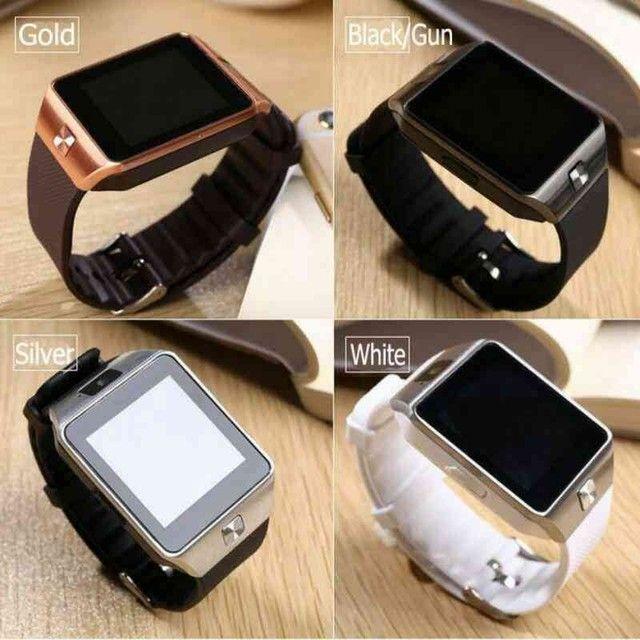 Relógio smartwatch dz09 - Foto 2