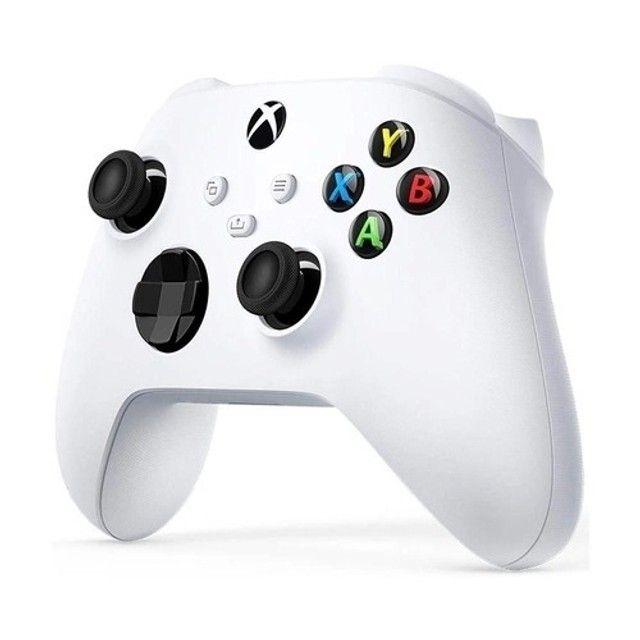 Controle Sem Fio Xbox - Branco - Foto 3