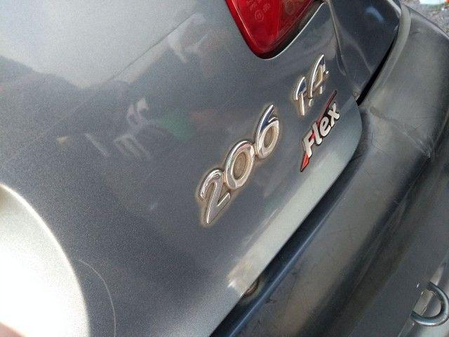 Peugeot 206 1.4 flex ( docto ok) - Foto 7