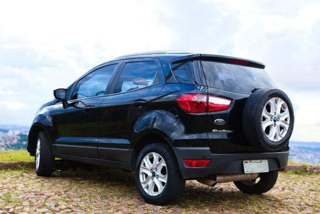 Excelente Oportunidade Ecosport Titanium 2.0 Completo 2014 Novinho TODO revisado pneus OK - Foto 6