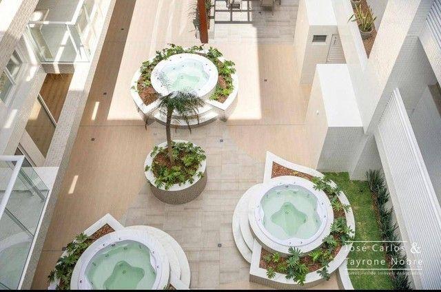 Apartamento térreo com área externa, 71m², projetados e com piscina privativa a beira mar  - Foto 15