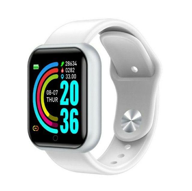 Smart watch y68 prova D'gua
