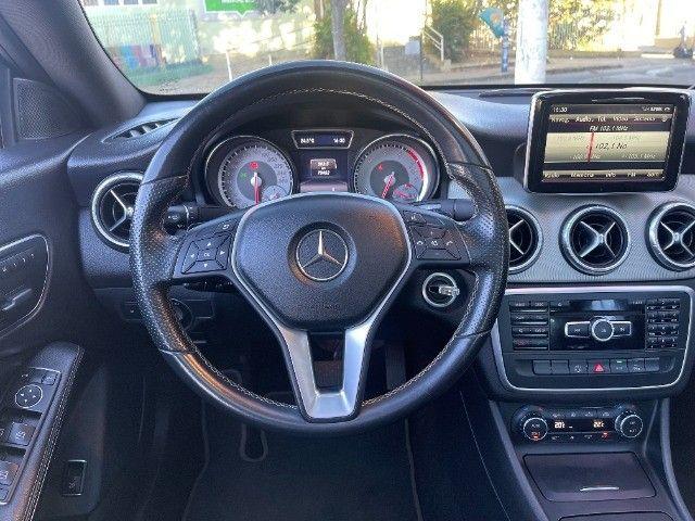 Mercedes CLA 200 Vision 1.6 Turbo 2015!! Carro luxuoso e econômico com 4 pneus novos. - Foto 8