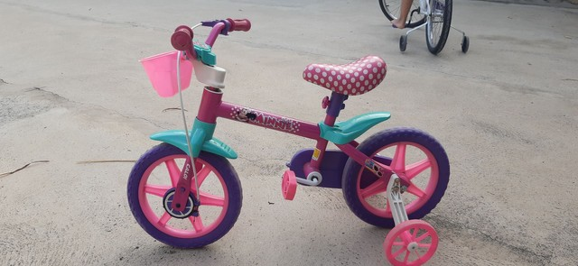 Bicicleta Caloi da minie aro 12 - Foto 2
