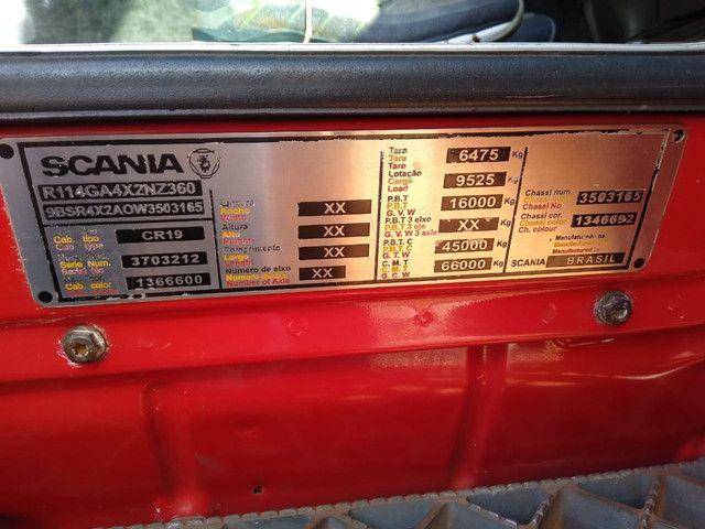 Scania R 114 360 6x2 muito novo - Foto 11