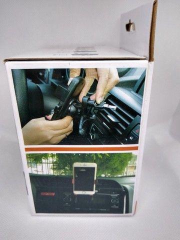 Suporte Veicular Para Celular Carro Automotivo Gps Vidro GT-1022 - Foto 4
