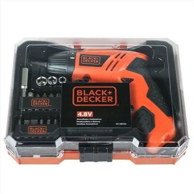 Parafusadeira Black & Decker Kc4815k 4,8v