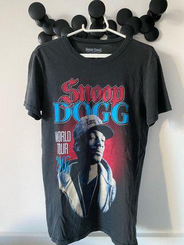 Camiseta cinza Snoop Dogg original - Foto 2
