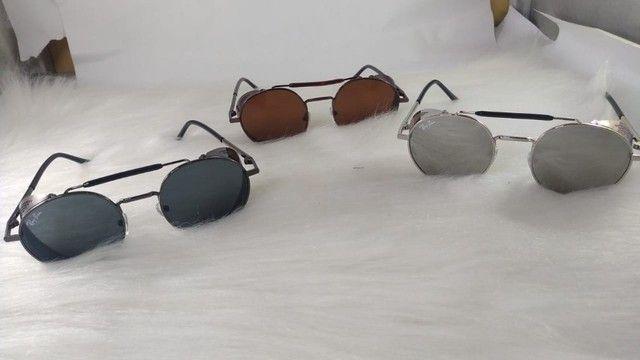 Oculos Alok Steampunk Masculino Retro Original