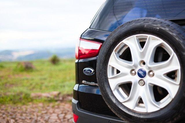 Excelente Oportunidade Ecosport Titanium 2.0 Completo 2014 Novinho TODO revisado pneus OK - Foto 2