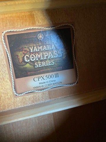 Violão Yamaha CPX 500 III  - Foto 4