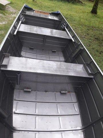 Barco de alumínio - Foto 3