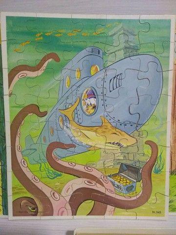 Antigo quebra cabeça Disneylândia - Foto 4