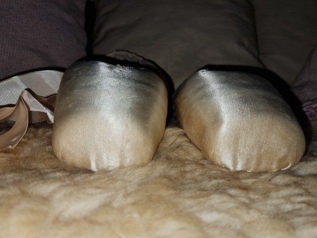 Sapatilhas ponta Ballet - Foto 4