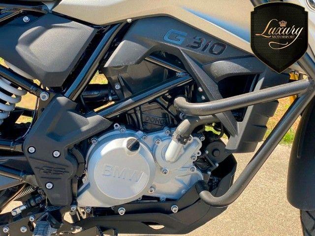 Motocicleta Bmw GS G310 2020 Preta com 600 KM - Foto 5