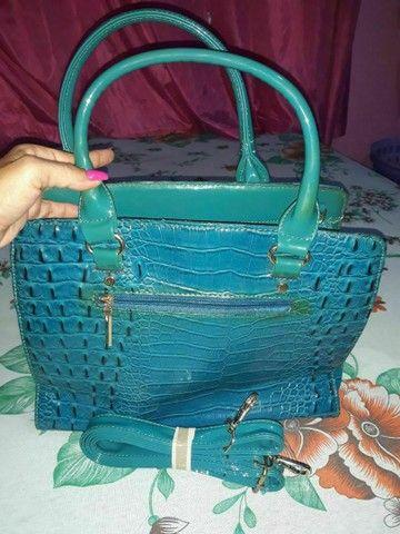 Bolsa usada so uma vez - Foto 2