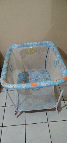 cercadinho-para-bebe-tubline-little-baby-dobravel semi novo - Foto 4