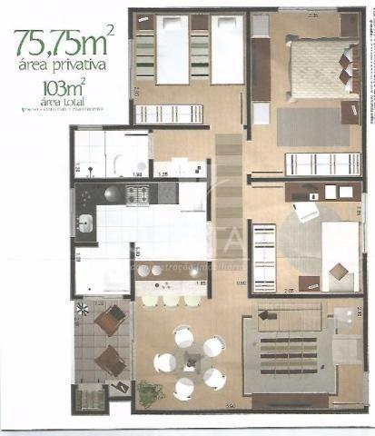 Apartamento à venda, COUNTRY, CASCAVEL - PR - Foto 2